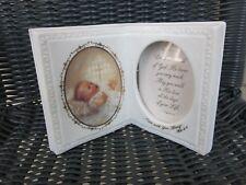 Porcelain Picture Frame Baby Religious Roman 40013 Gods Treasure Kathryn Fincher
