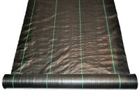 Weed Control fabric Width 110cm  Ground Cover Membrane Cover Mat Landscape 70gsm