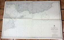 Very Large New Zealand Marine Chart - NUGGET POINT TO  CENTRE ISLAND - 1954