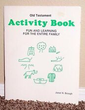 Old Testament Activity Book Fun & Learning Family by Janet Brough LDS Mormon PB