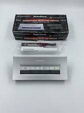 Radio Shack 4-Way Audio Video Selector No.15-1983