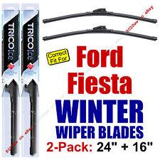 WINTER Wiper Blades 2-Pack Premium - fit 2011+ Ford Fiesta - 35240/160