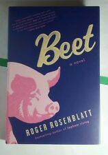 BEET A NOVEL ROGER ROSENBLATT PIG COVER FIRST 1ST EDITION HARDCOVER BOOK