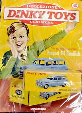 DINKY TOYS PEUGEOT 403 FAMILIARE 1:43 MINIATURE CAR MODEL DE AGOSTINI ATLAS CARS