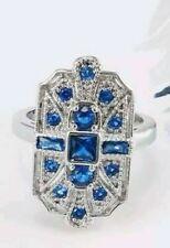 AAA quality, luxury sapphire ring sz  7 & 9