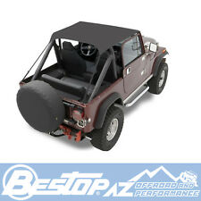 Bestop Traditional Bikini - Black Crush fits 1976-1983 Jeep CJ5 52507-01