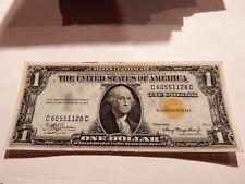 $1 1935 A SILVER CERTIFICATE NORTH AFRICA NOTE