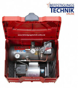Senco PC1010EUS Montage Baustellen Kompressor inkl. Systainer IV