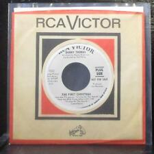 "Danny Thomas - The First Christmas / Christmas Story 7"" VG+ Promo Vinyl 45 RCA"