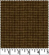 Shadow Play  Woolies  Flannel - Light Brown Houndstooth F18503-A