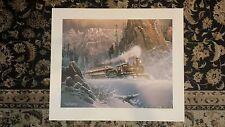 "Art Print - Ted Blaylock ""Climbing Eagle Pass"""