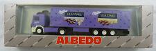"Volvo Koffersattelzug ""Milka Lila Stars"" Albedo 300136 1:87 H0 OVP [BA]"