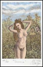 Bogdanov Vladimir 2011 Exlibris L1 Susanne Erotic Erotik Nude Nudo Woman s207