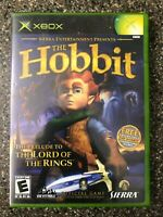 The Hobbit - Original Xbox Game - Complete w/ Manual - Tested Working Free Ship
