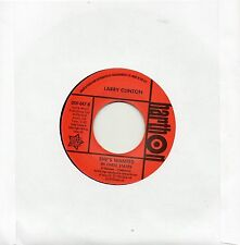 LARRY CLINTON-SHE'S WANTED (IN THREE STATES)/JESSE JAMES-LOVE IS ALL RIGHT Re-Is