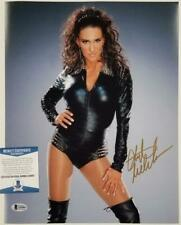 Stephanie McMahon signed 11x14 Photo WWE Diva Autograph ~ Beckett BAS COA