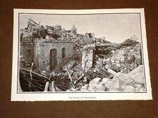 Terremoto in Calabria 23 ottobre 1907 Rovine di Ferruzzano