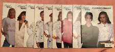 Liquid Beads Traceable & Iron-On Pattern Books by Plaid Lot of 9, Christmas patt