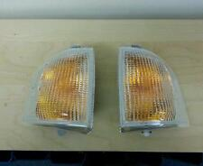 Ford Escort RS turbo series 2 clear front indicator lamp set new 86-90