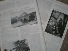 Photo article the Bridge at Abingdon 1904 my ref R