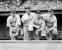 Hank Greenberg Charlie Gehringer Photo 8X10 Tigers 1935 - Buy Any 2 Get 1 Free