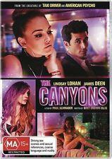 The Canyons (DVD, 2014) Lindsay Lohan NEW Region 4