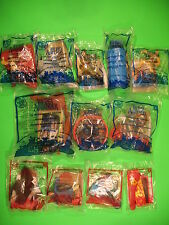 2010 McDonalds - Last Airbender - set of 12 *MIP*