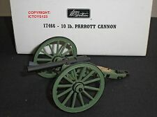 BRITAINS 17466 AMERICAN CIVIL WAR 10LB PARROTT GUN TOY SOLDIER FIGURE CANNON