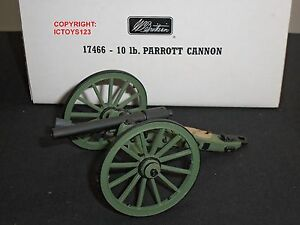BRITAINS 17466 AMERICAN CIVIL WAR 10LB PARROTT GUN TOY SOLDIER FIGURE CANNON