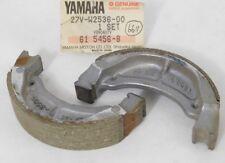 1 NOS Genuine YAMAHA SH50 CG50 CE50 Set of BRAKE SHOE PADS OEM 27V-W2536-00 NEW