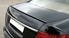 Audi A6 S6 C6 Sedan Euro Rear Trunk Boot Spoiler Lip Wing Sport Trim Lid S Line