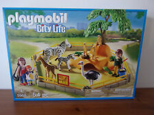 Playmobil City Life 5968 Zoo (Animal Enclosure) - Nip