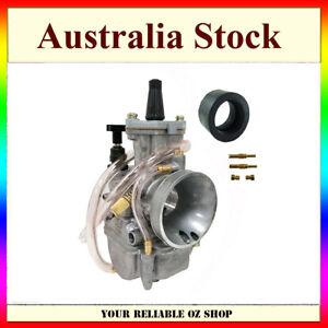 OKO 24mm Carburetor PWK24 Flat Slide Kit UNIVERSAL 2/4 Stroke 80cc 100cc 125cc