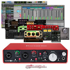 Focusrite Scarlett 2i4 (2nd Gen) USB Audio Interface with Pro Tools First