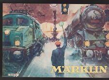 Märklin-catalogo D 70 P 1930-Reprint