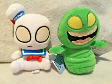 New Mopeez Funko Plush Ghostbusters Slimer & Staypuff Marshmellow