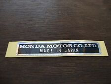 Honda Sticker Decal Label CT70 CA175 QA50 ATC70 CL160 CB175 Z50 C70 XL