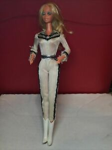 Vintage 1966 Mattel Made Taiwan Barbie Doll Cowgirl Outfit Bendable Knees