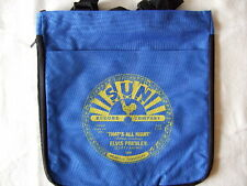 SUN RECORDS ELVIS PRESLEY THAT'S ALL RIGHT TOTE BAG OFFICIALLY LICENSED BLUE