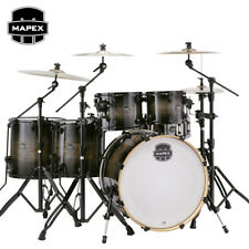 Mapex Armory Series 6 Piece Studioease Drum Set Shell Pack Black Dawn, AR628SBTK