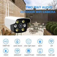 HD 1080P Wireless WIFI IN/Outdoor CCTV IP Camera Home Security Waterproof IR Cam