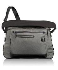 NWT TUMI Tahoe Marino roll-top messenger bag $295 travel luggage black gray