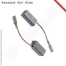 Kohlebürsten Kohlen Motorkohlen für FLEX Polierer L 1503 VR / L1503VR 6,3x7mm
