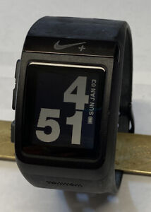 TomTom Nike + SportWatch Black GPS Watch Nice No Charger
