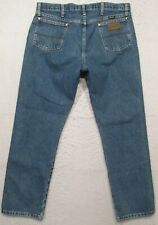 MENS WRANGLER GEORGE STRAIT 13MGSHD JEANS FITS OVER BOOT 36 X 30