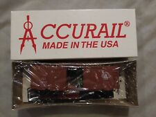 Accurail - #3451 - Central New Jersey - 40' Steel PS-1 Boxcar  - HO - New
