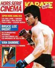 BRUCE LEE karate Bushida JEAN-CLAUDE VAN DAMME JCVD french magazine
