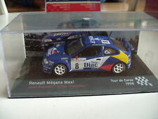 Ixo / Altaya Renault Megane Maxi Tour de Corse 1996 in Blue on 1:43 in Box