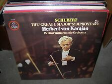 KARAJAN / SCHUBERT symphony 9 great c major ( classical ) angel - SEALED NEW -