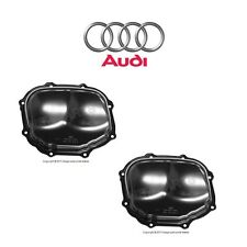 For Audi A4 A6 Quattro V6 3.2L Set Of Left & Right Upper Timing Covers Genuine